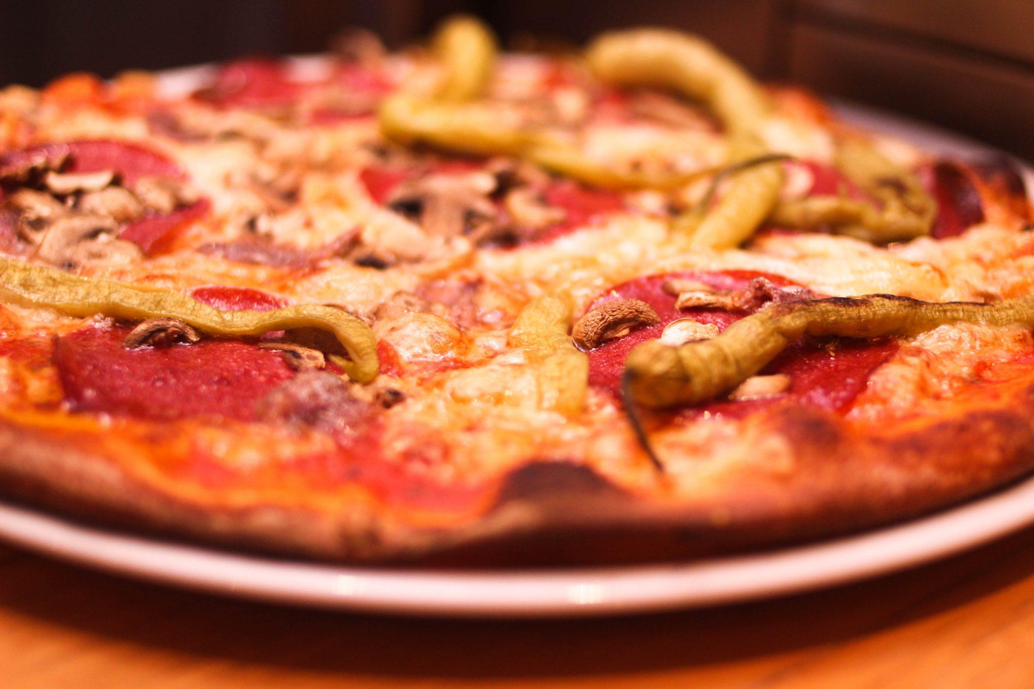 jeden Tag eine andere Pizza für den Mittagstisch