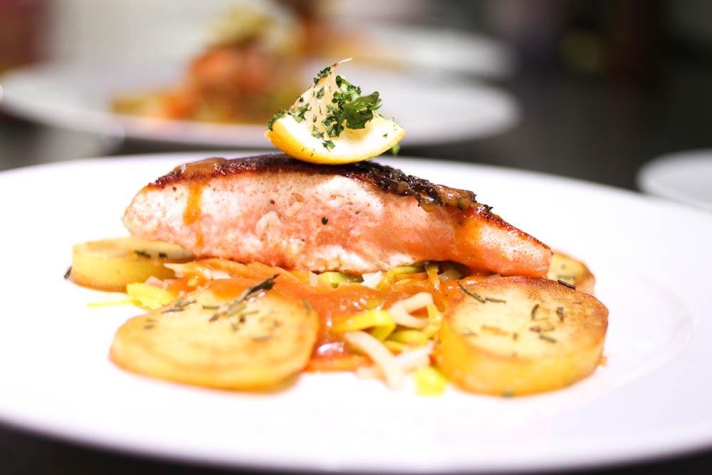 Ein Fischgericht zu eurer Hochzeit im Restaurant GAVESI