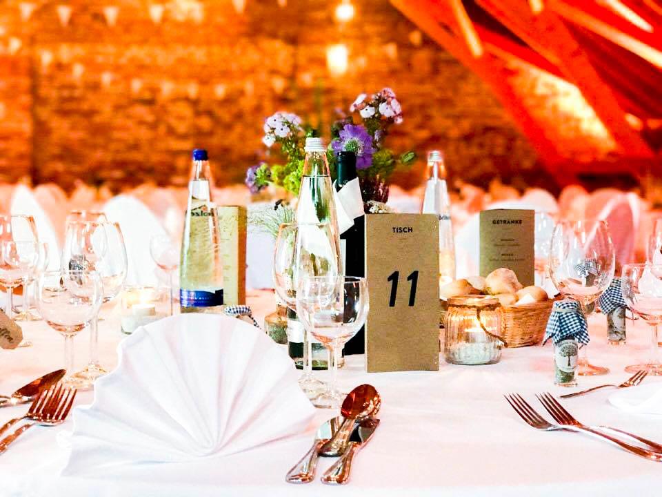 Gut Thurnsberg die Hochzeit feiern