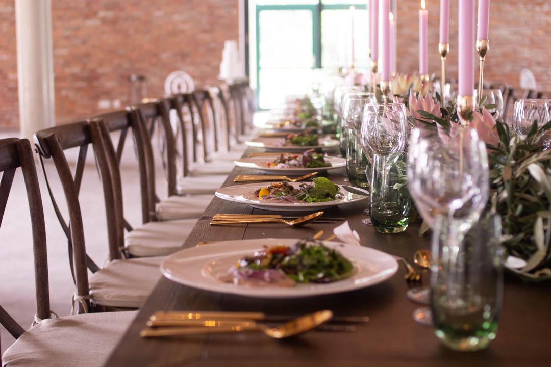 Das Hochzeitsessen in der Kaltmühle