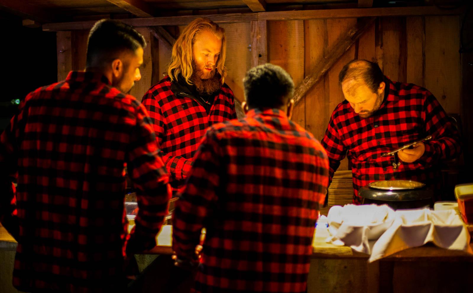Weihnachtscatering für die Christkindlhütten