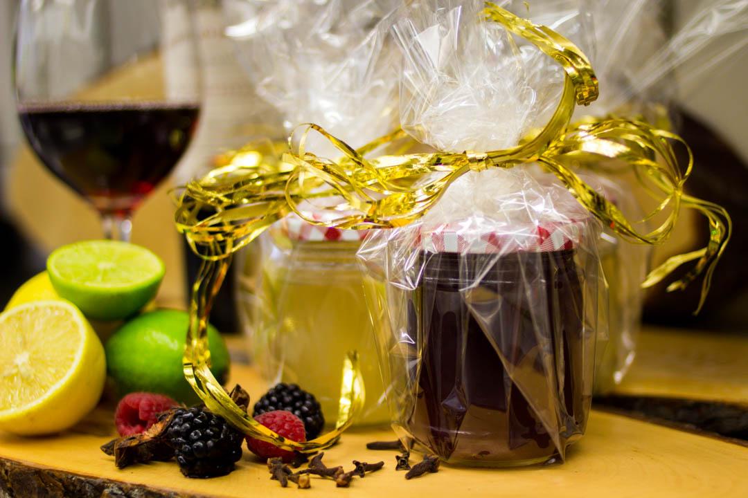 Weingelee als Gastgeschenk oder Mitbringsel