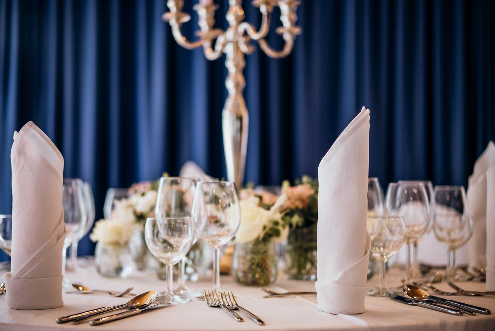 Hochzeitplaung runde Tische